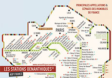 affiche Stations des vignobles de France